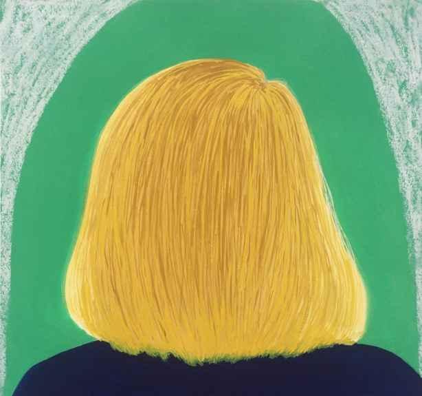 "Blonde Girl  12"" x 11""  Pastel On Paper"