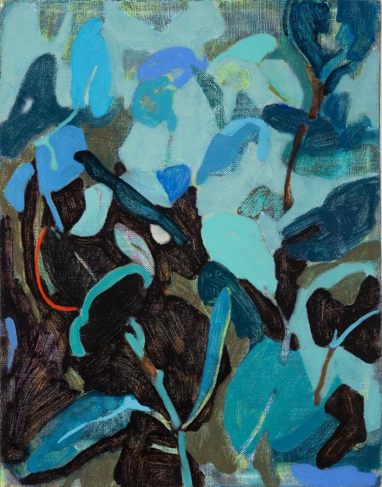 "Silver Mound  14"" x 11""  Oil On Canvas"