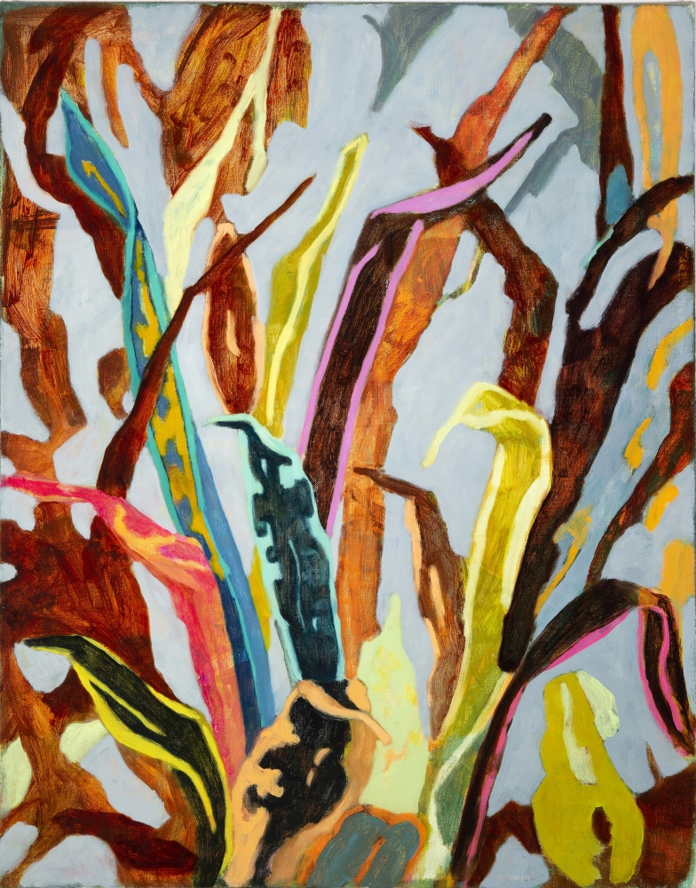 """Gathering  28"""" x 22""""  Oil On Canvas"""