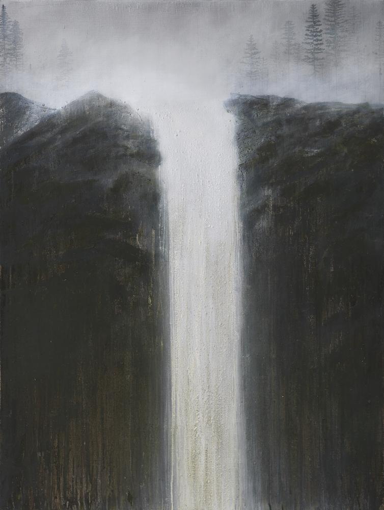 "Rhea Cutillo, Filtered Water 40"" x 30""  Oil On Linen"