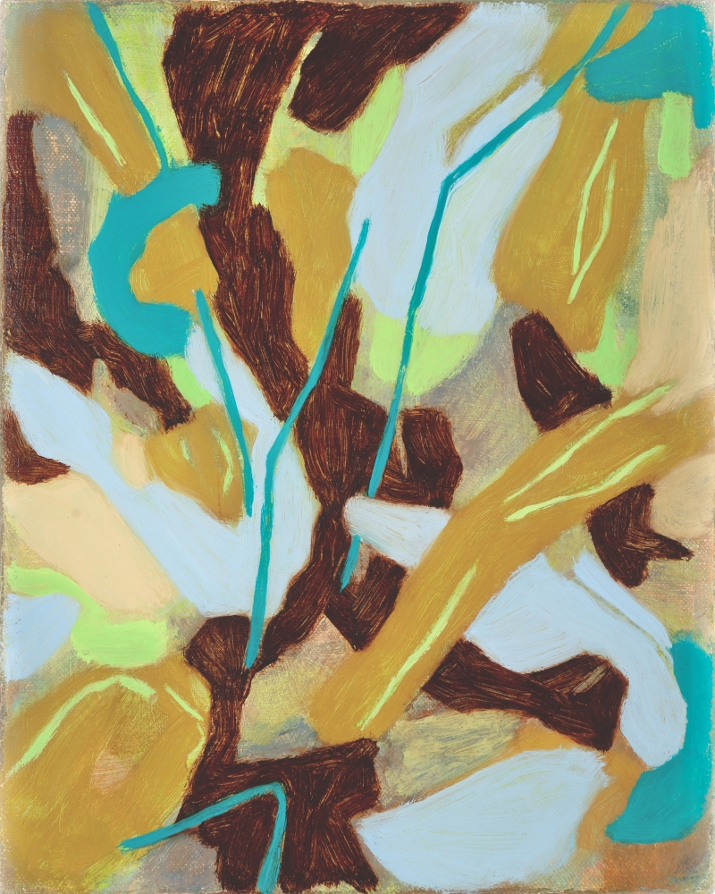 "Traveler's Joy, 10"" x 8""  Oil On Canvas"