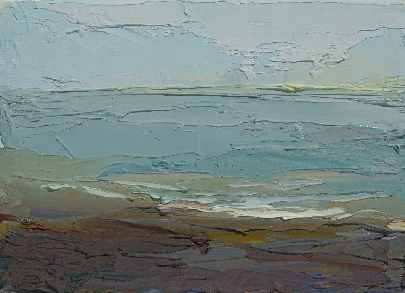 """Sea Study  5"""" x 7""""  Oil On Linen"""