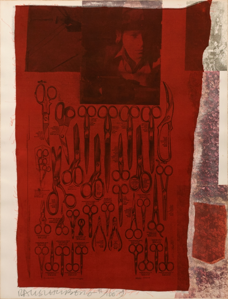 Robert Rauschenberg, Most Distant Visible Part of the Sea, Lithograph screenprint, 1979, 30.5 x 23 inches, Robert Rauschenberg prints, Robert Rauschenberg art for sale