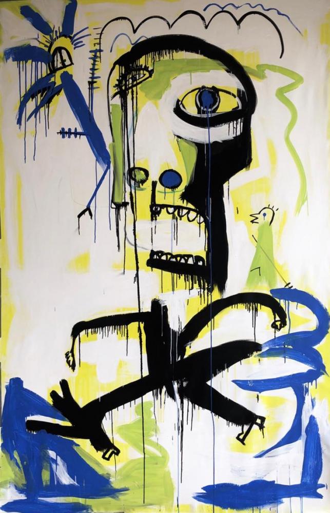 Fernanda Lavera,Contundencia II, 2019, Graffiti and Street Art for Sale at Manolis Projects Art Gallery, Miami, Fl