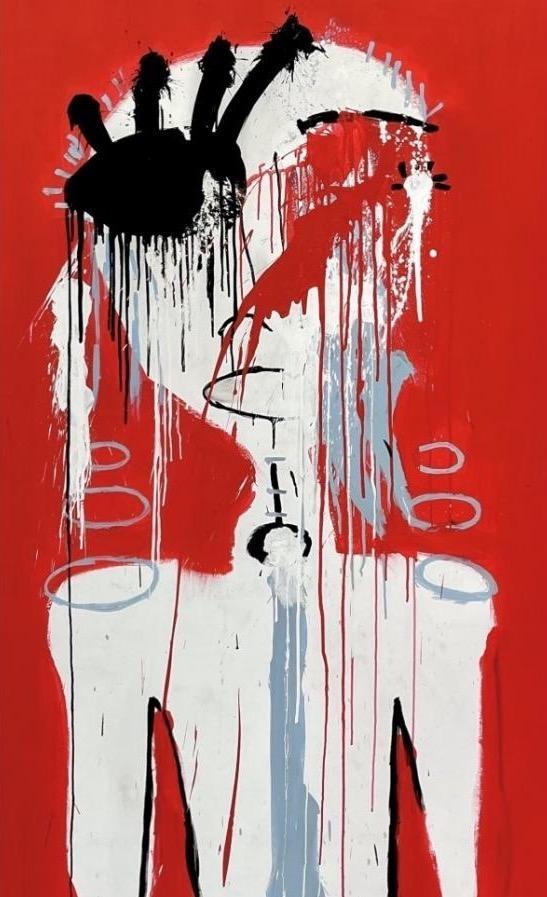 Fernanda Lavera,  El Nino Que Llora, 2018, Graffiti and Street Art for Sale at Manolis Projects Art Gallery, Miami, Fl