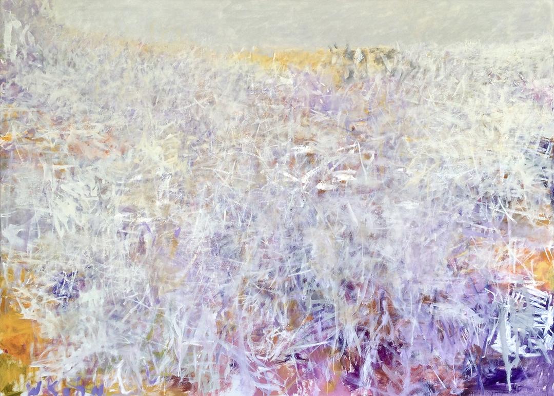 Wolf Kahn, Nambia Caos, 2006, Oil on linen, 52 x 72 inches, Wolf Kahn art for sale, Wolf Kahn Oil Paintings