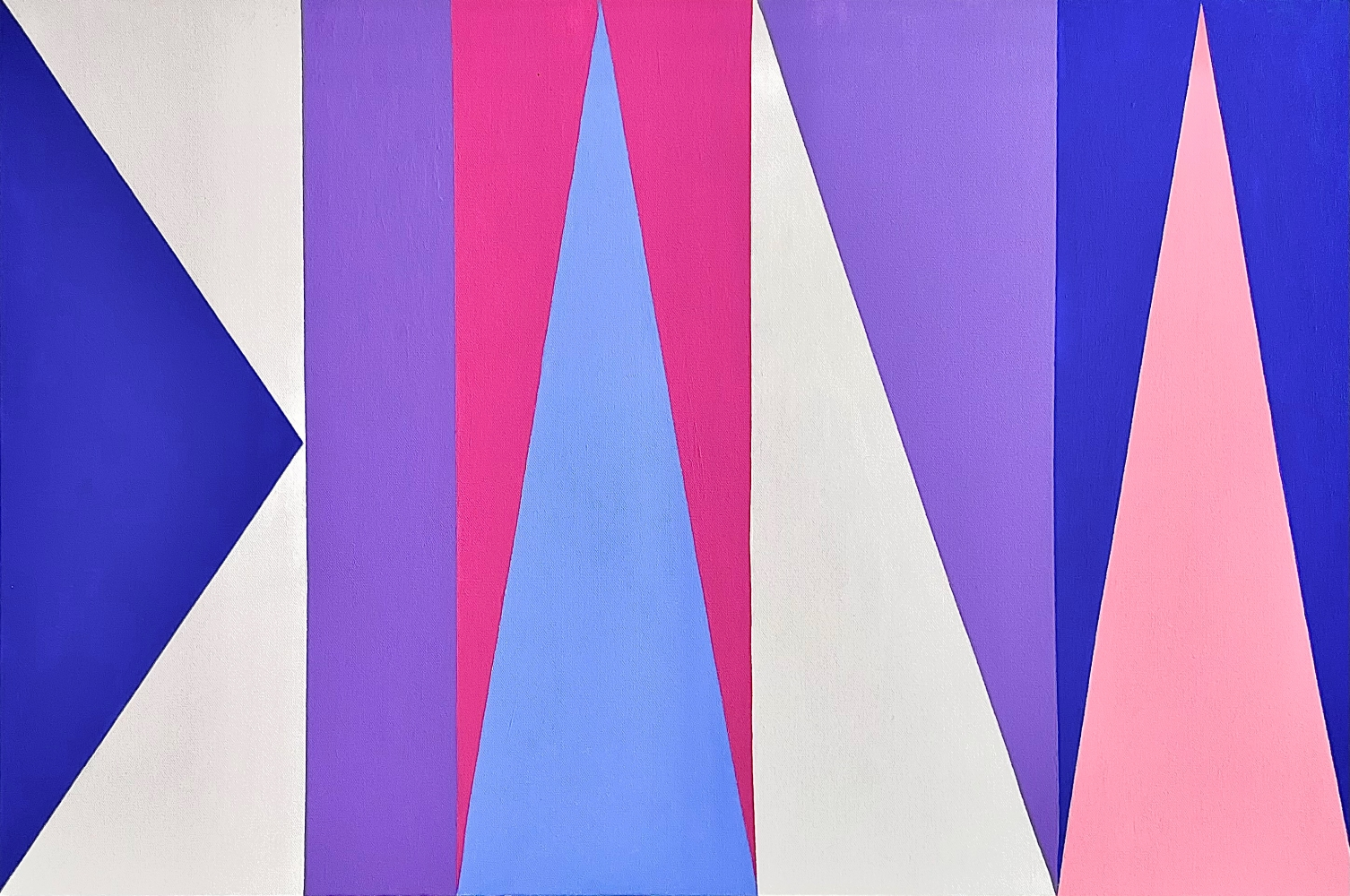 Ron Burkardt, DIANA, 2018, Acrylic painting on Canvas, 24 x 36 inches, contemporary art for sale