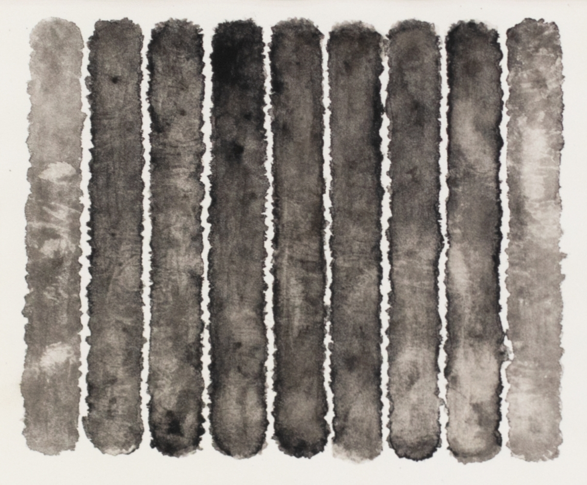 J. Steven Manolis, Molecules (Black & White), 2008, watercolor, 18 x 20 inches, Abstract expressionism art, Black and White Abstract painting