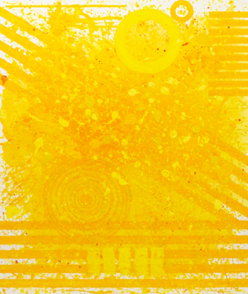 J. Steven Manolis, Sunshine (72.60.02), #2 sunshine series, 2020, Acrylic and Latex Enamel on canvas, 72 x 60 inches, Sunshine art, Large Abstract Wall Art for Sale at Manolis Projects Art Gallery, Miami Fl