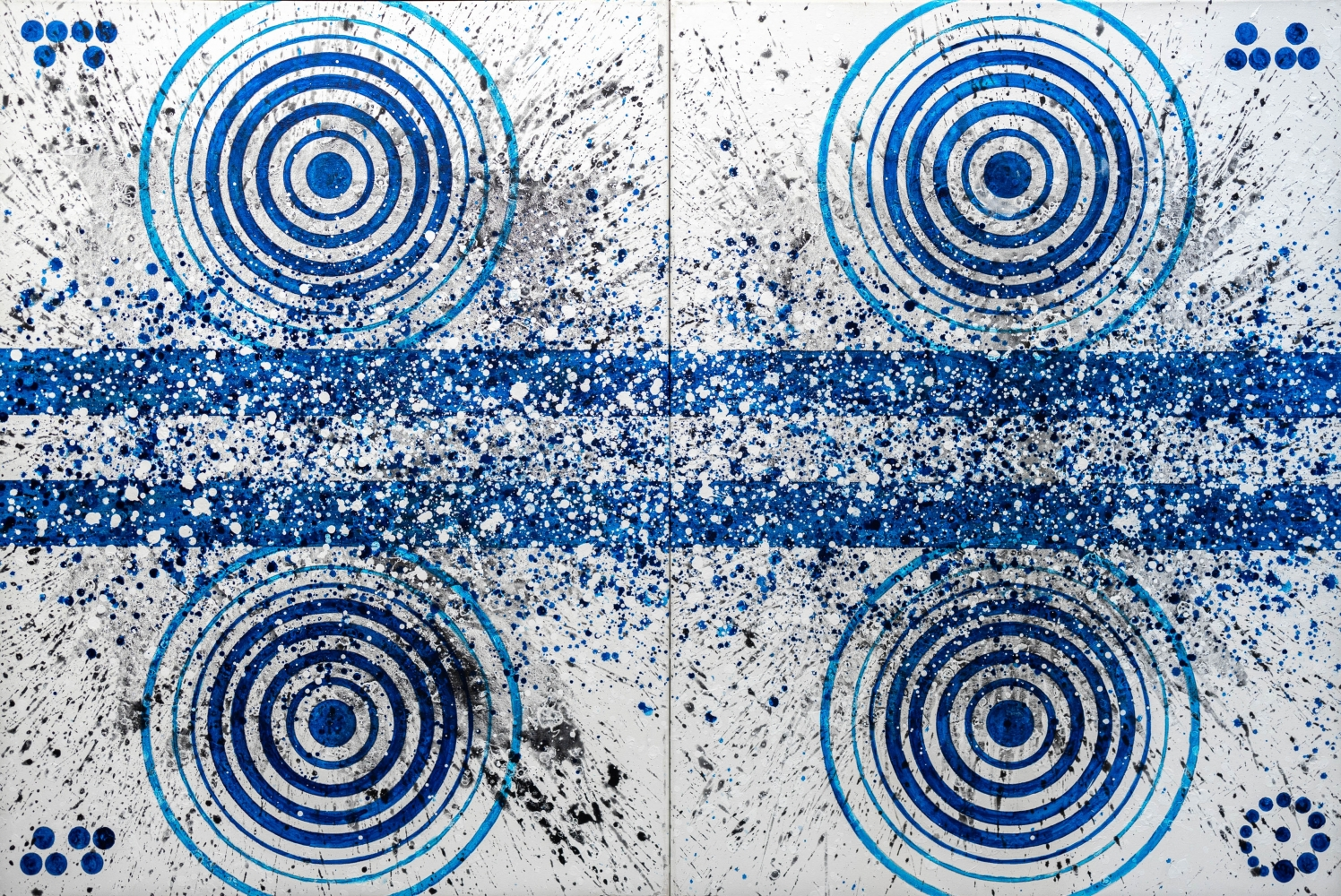 J. Steven Manolis, Hamptons 27, 2016, Acrylic painting on canvas, 72 x 48 inches, Hamptons Art
