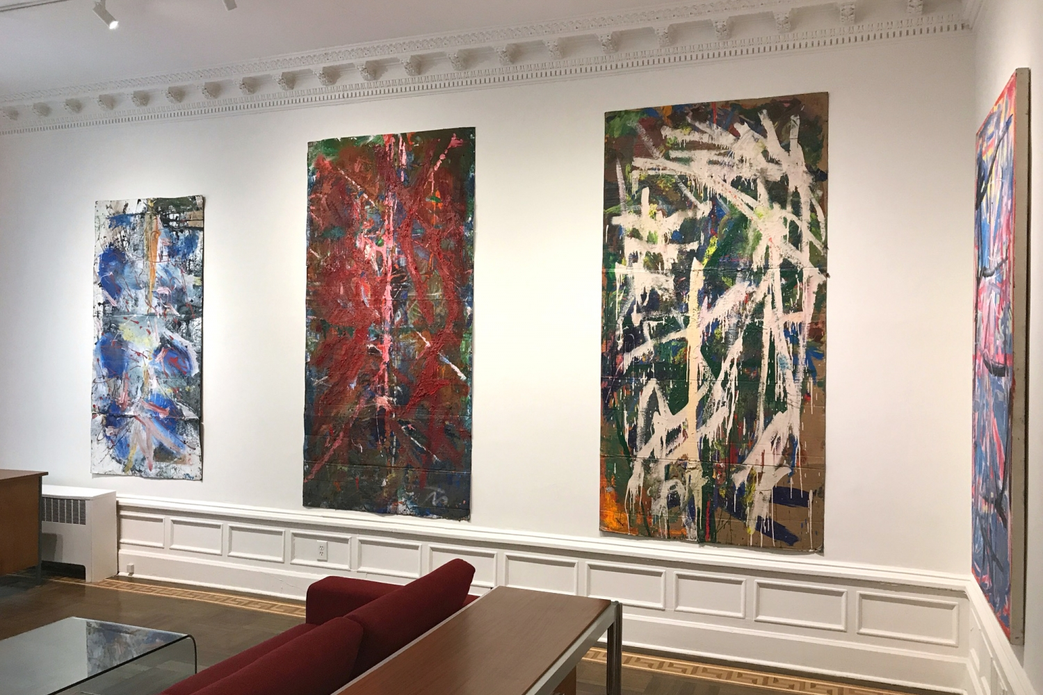 Spencer Lewis: Violet Paintings for the Red and Blue Studio - installation view