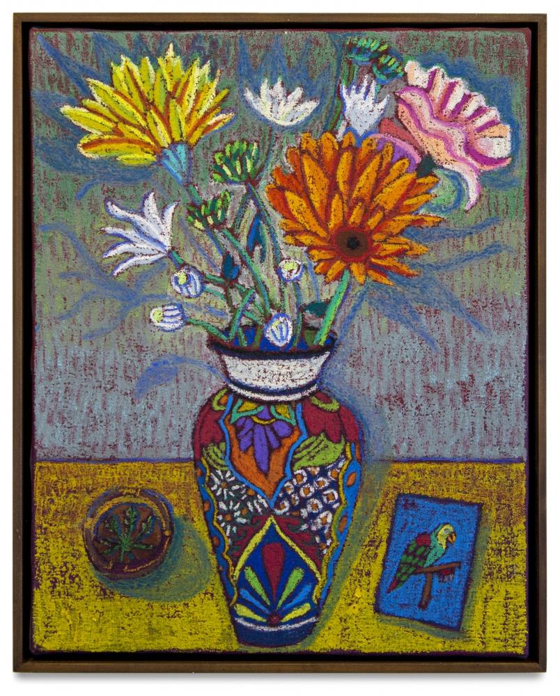 JJ Manford, Still Life with Mexican Vase, 2019