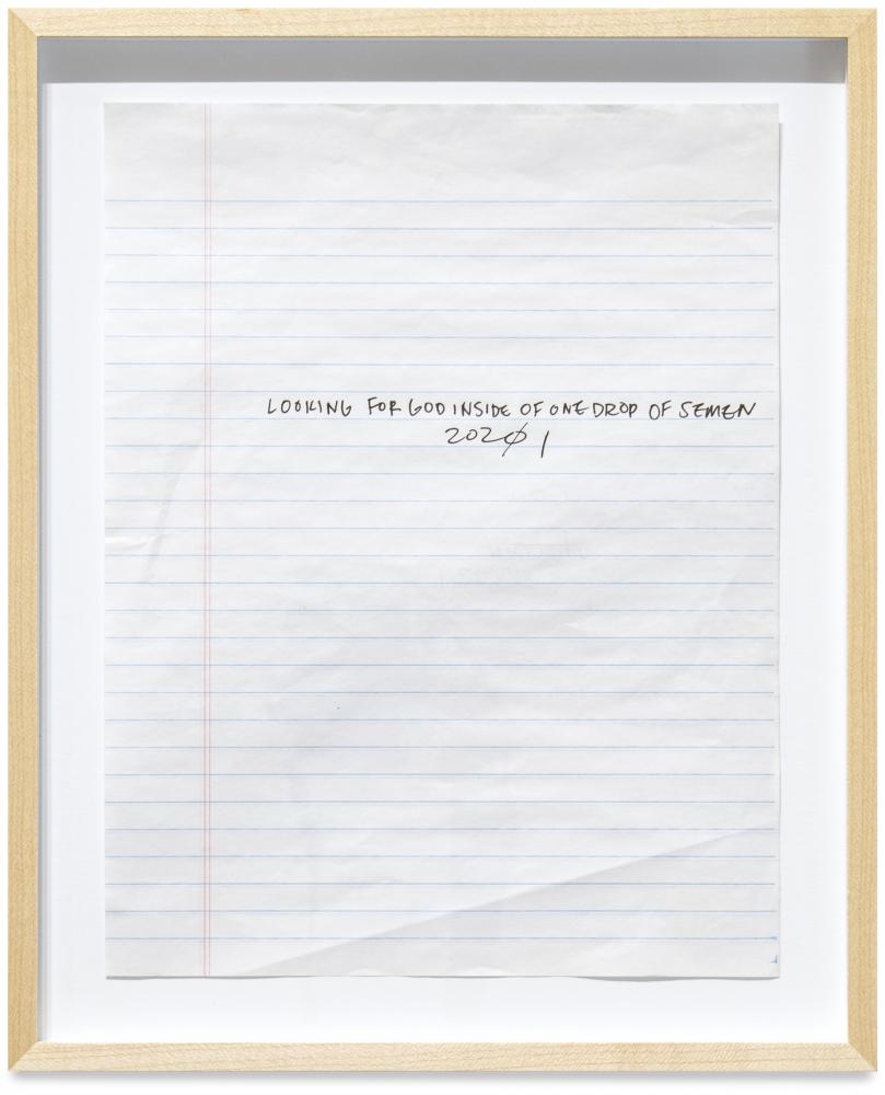 Austyn Weiner, God, 2021