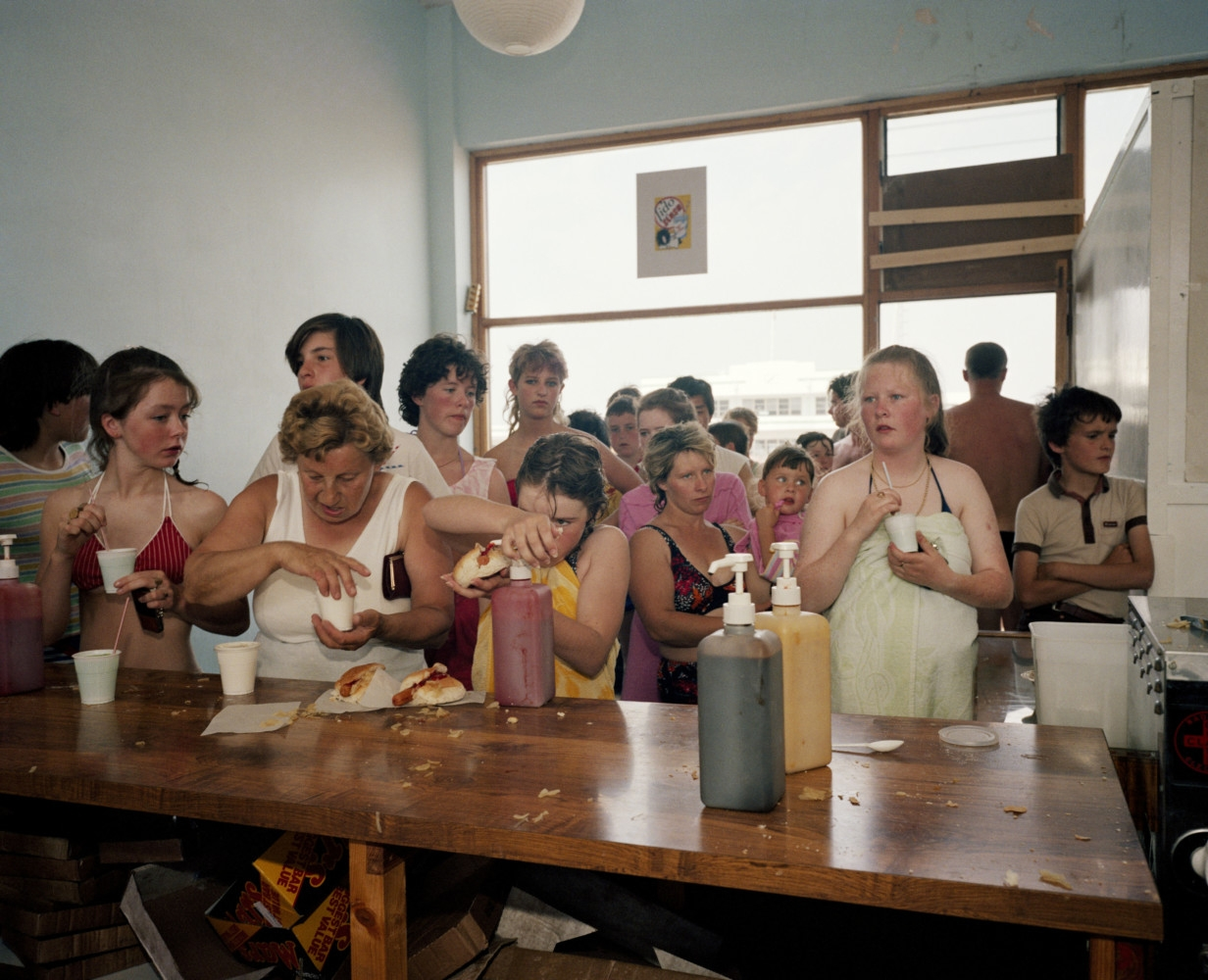 Martin Parr, Untitled (Plate 24) from The Last Resort, 1983-86