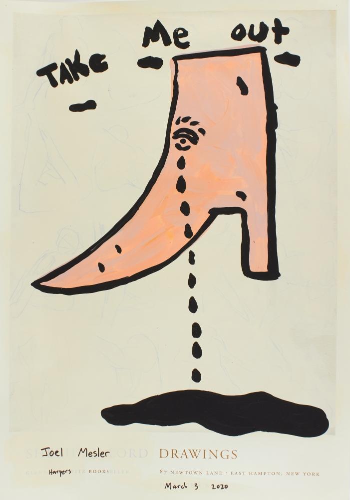 Joel Mesler, Untitled (Take Me Out), 2020