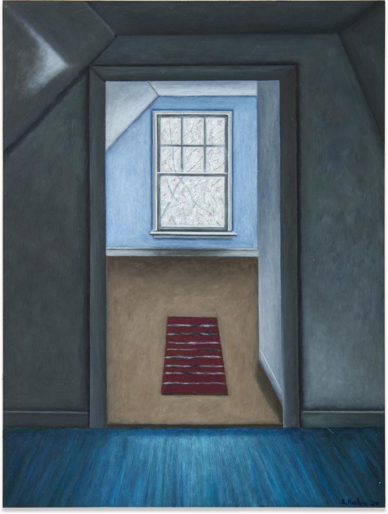 Scott Kahn, The Painter's Room, 2020