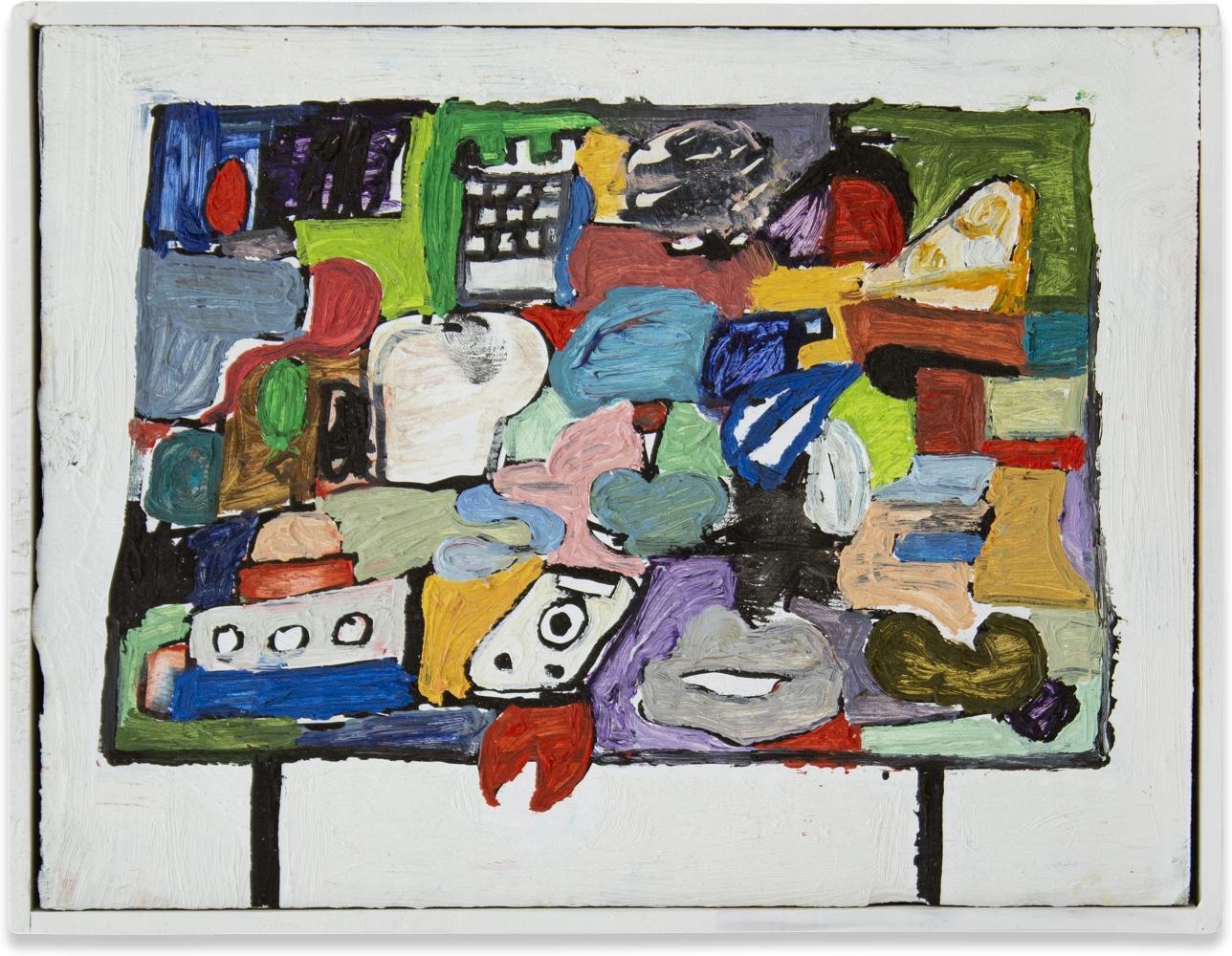 Eddie Martinez, Untitled, 2020
