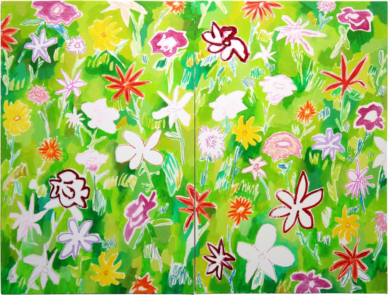 Cody Gunningham, Wildflowers (2), 2016