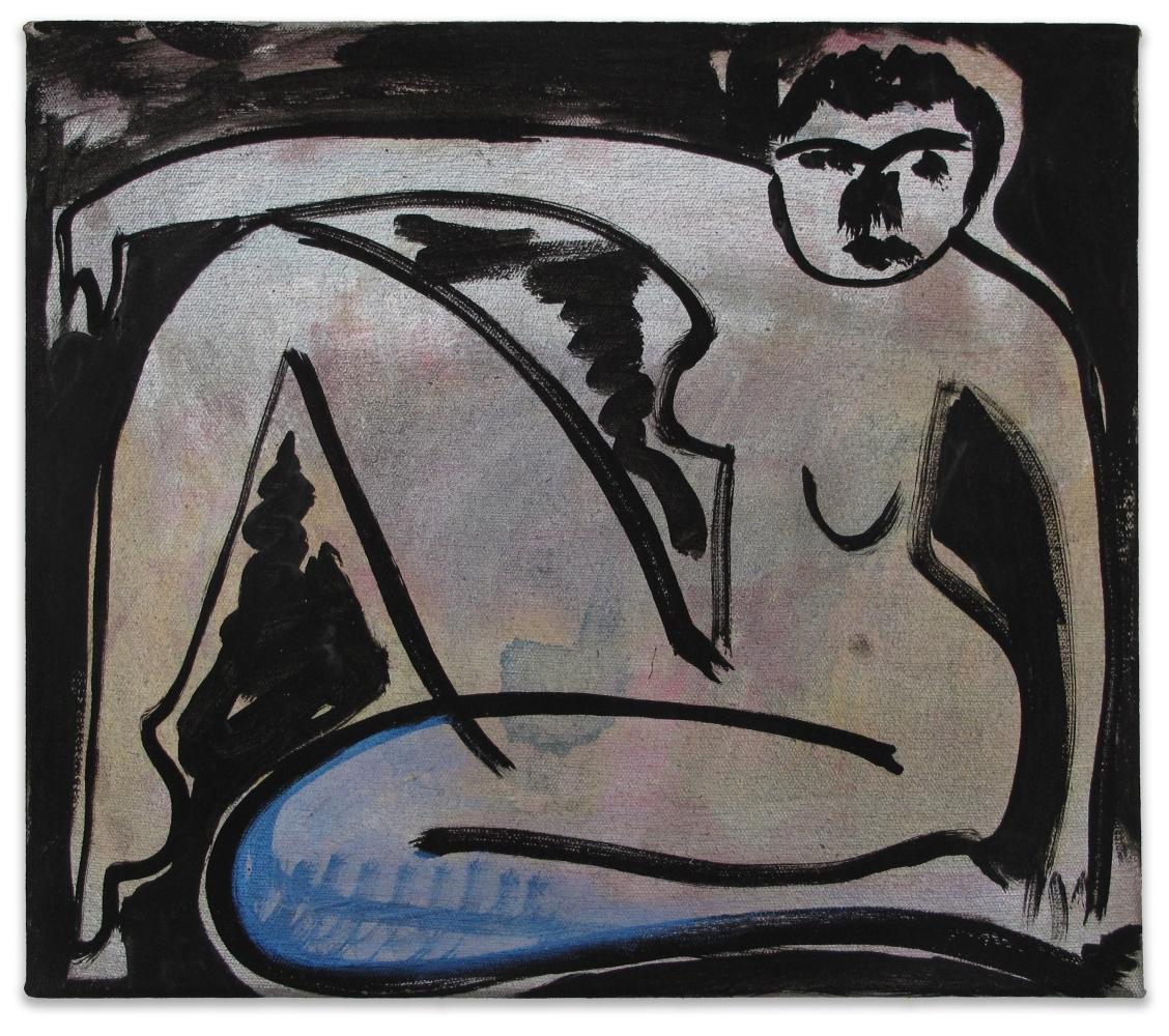 Amy Bessone, Iridescent Power Nude, 2010