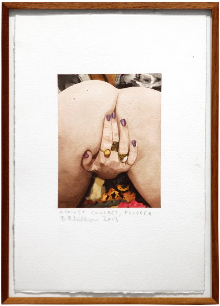 Brad Phillips, Against Courbet, Flipped, 2013