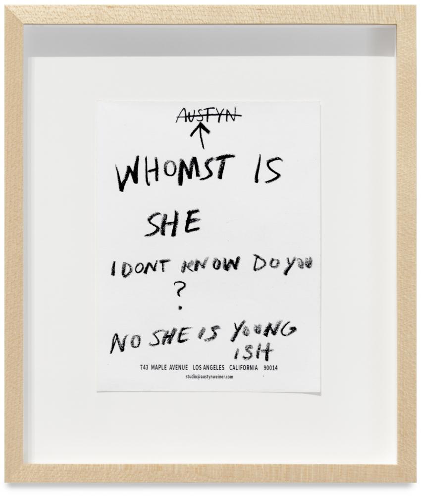 Austyn Weiner, Young-Ish, 2021