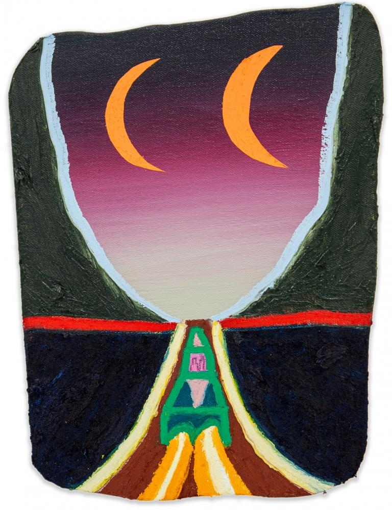 Eliot Greenwald, Night Car (seasonal figure 3)