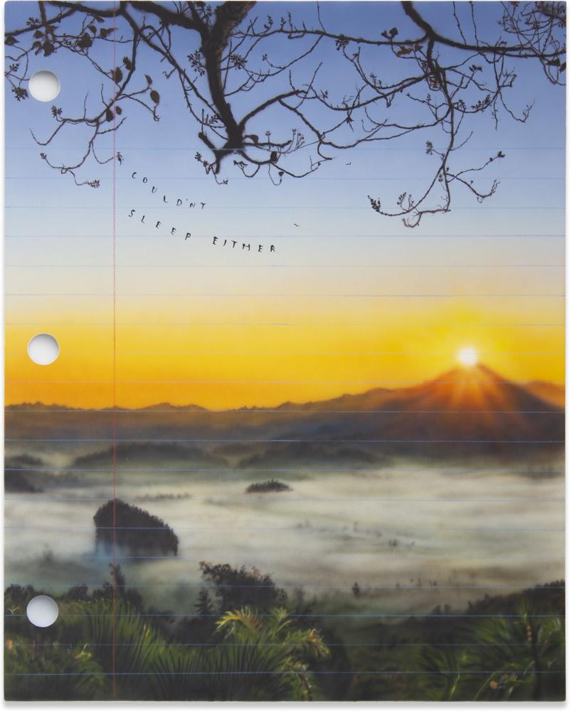 Friedrich Kunath, Couldn't Sleep Either, 2020
