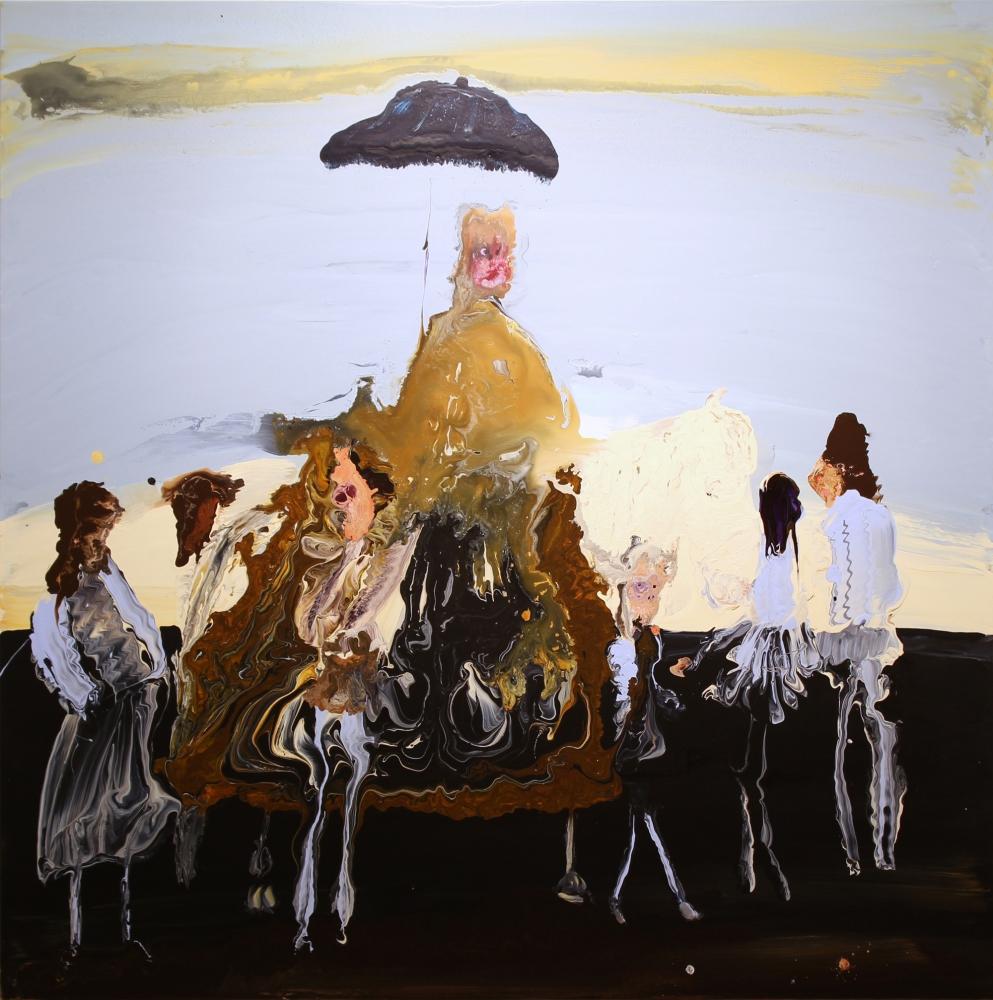 Genieve Figgis, Pierre Séguier After Charles Le Brun, 2016