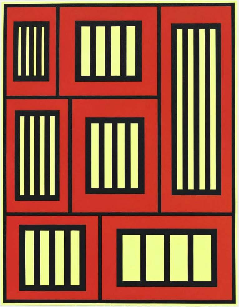 Peter Halley, Prisons, 2012