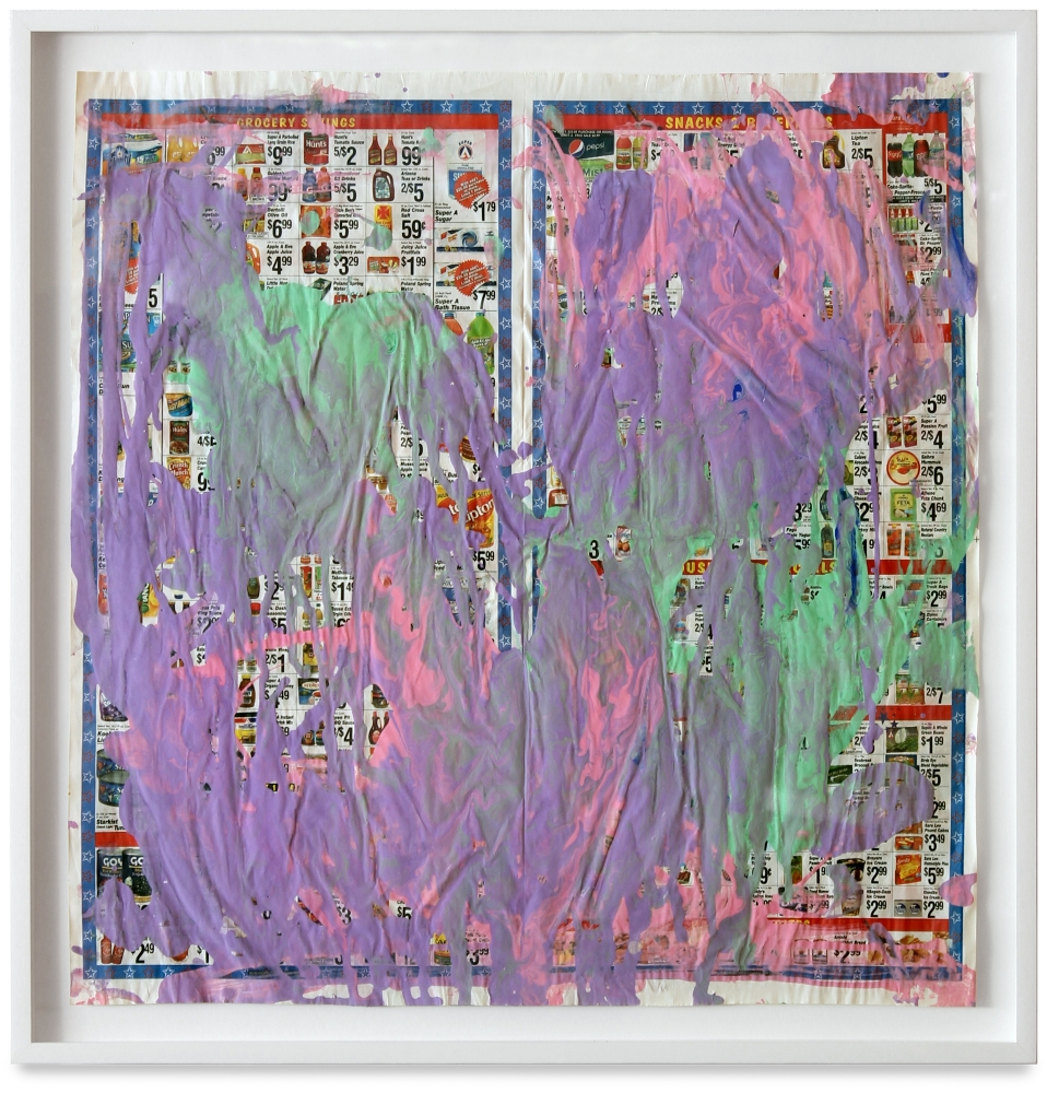 Anke Weyer  Untitled (purple) 2015