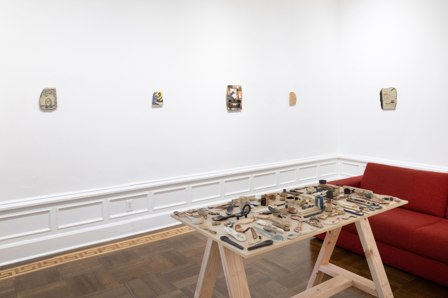 Kevin McNamee-Tweed: Moon Over Math Town - installation view