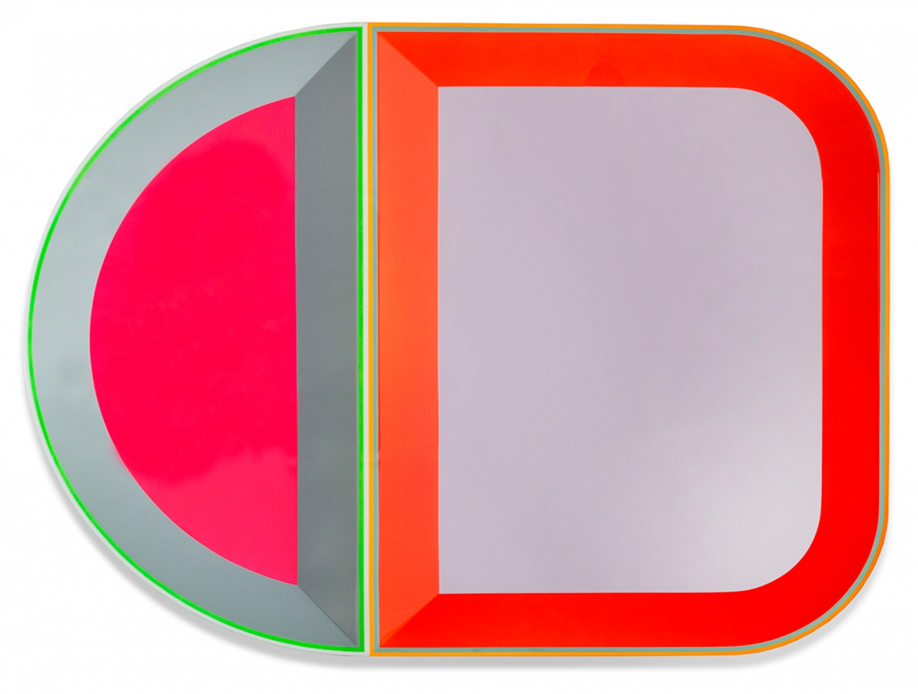 Beverly Fishman, Untitled (A + C), 2016