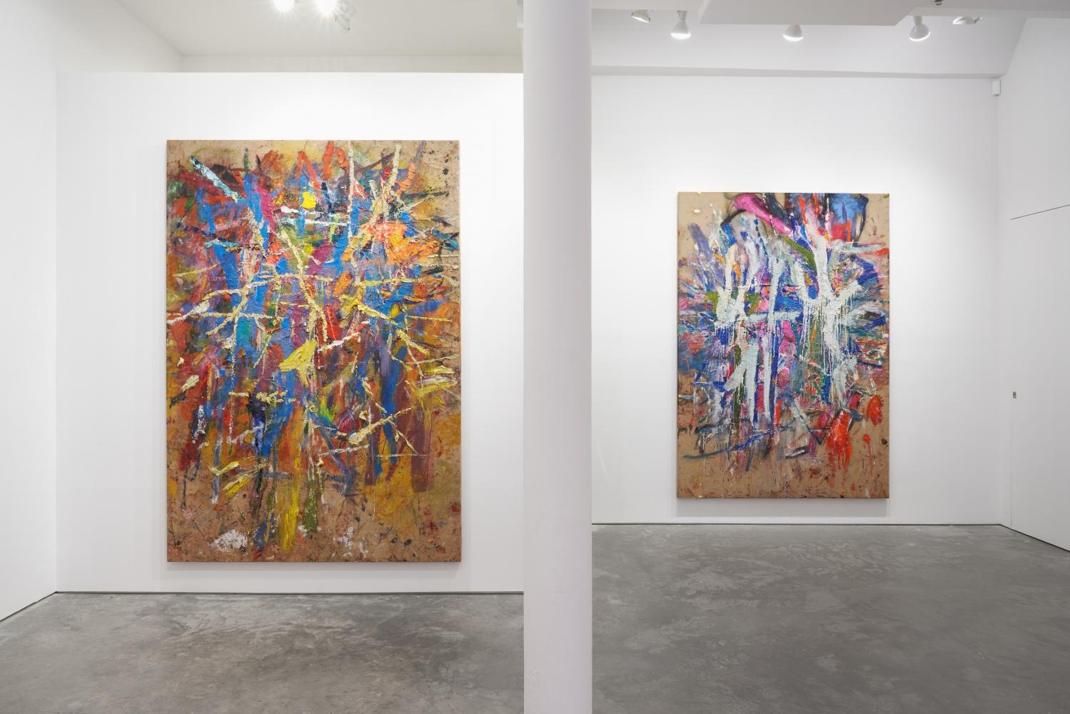 Spencer Lewis: Six Jutes (2) installation view