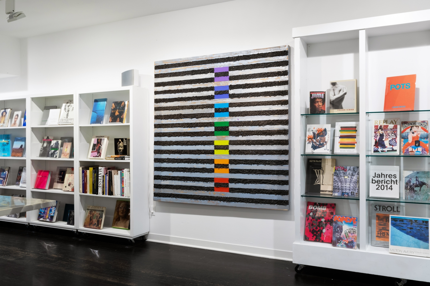 Kevin Teare: L'ecole horizontale - installation view