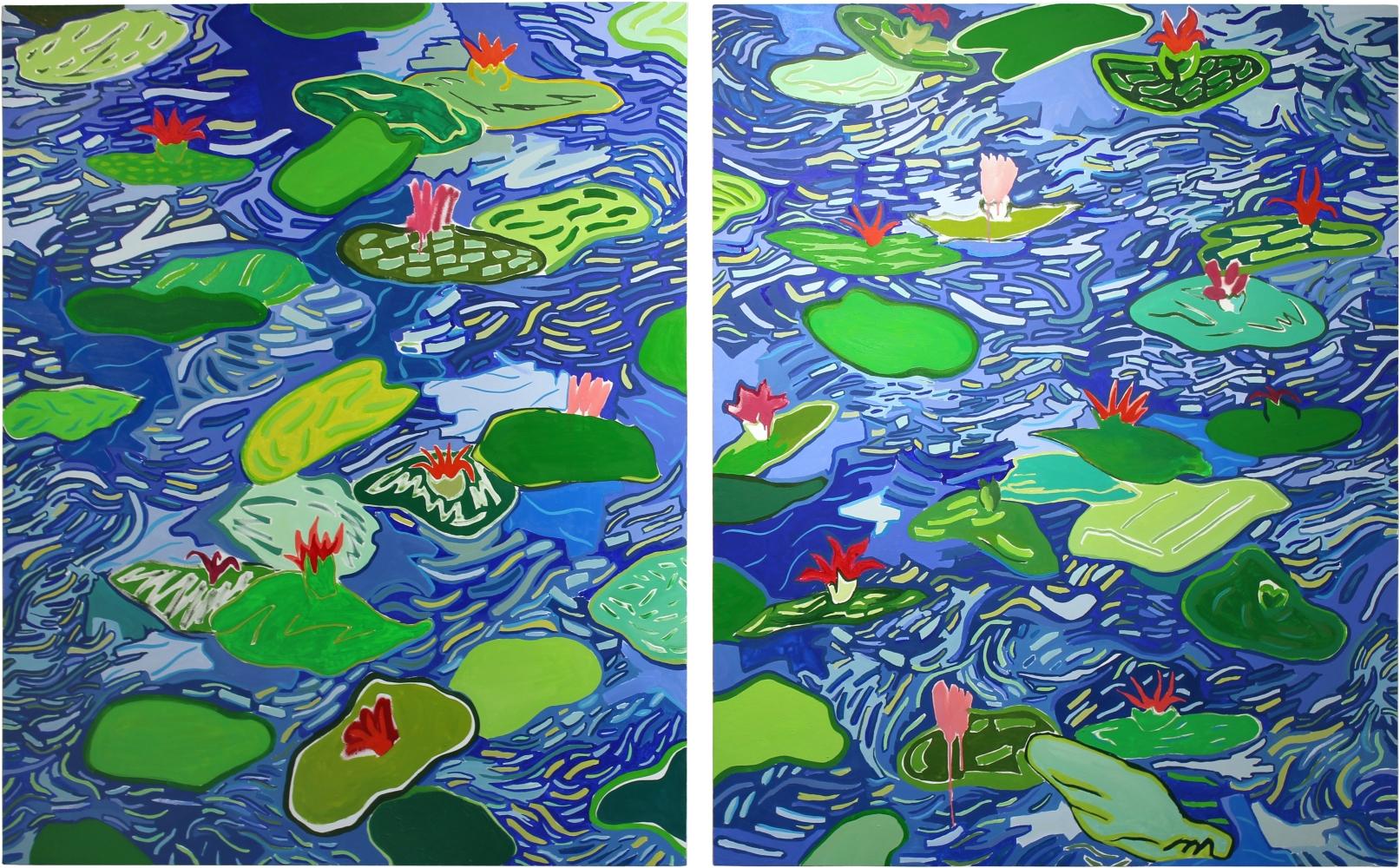 Cody Gunningham, Water Lilies, 2016