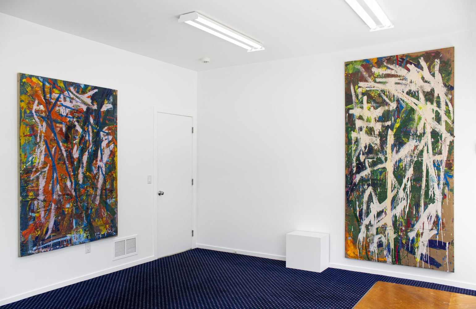 Spencer Lewis, Literacy Devolves into Violence - installation view