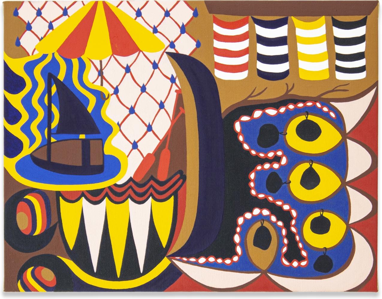 Mairikke Dau, Blue Boats, 2020