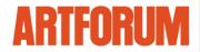 "Artforum logo for ""Critics' Picks: Steve Wolfe"", 2017"
