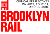"Brooklyn Rail logo for ""Sanya Kantarovsky: On Them"" by Nicholas Heskes, 2019"