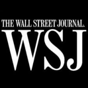 "Wall Street Journal logo for ""Where Memories Dwell"" by Eric Gibson, 2018"