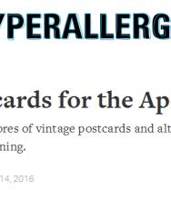 Vintage Postcards for the Apocalypse