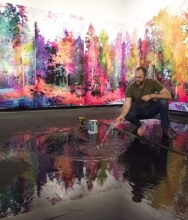 STEVE DRISCOLL IN TORONTO LIFE | HERE'S HOW AN ARTIST BUILT A 2,000-GALLON LAKE INSIDE A TORONTO ART GALLERY |