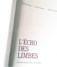 EVE K. TREMBLAY | CATALOGUE L'ÉCHO DES LIMBES PUBLISHED BY LEONARD & BINE ELLEN ART GALLERY TEXT BY NATHALIE DE BLOIS