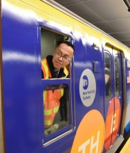 Second Avenue subway takes first ride just before New Year's Eve ball drop in Times Square