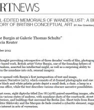 """Well-Edited Memorials of Wanderlust"": A Brief History of British Conceptual Art"