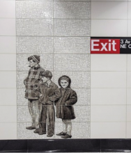 Underground art: the public works that are part of New York's $100bn infrastructure plan