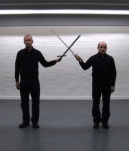 British Artists John Wood and Paul Harrison Combine Physics and Humor in Video Installations