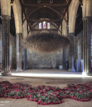 Cloud by Susie MacMurray / The Great Hall Winchester in Embroidery