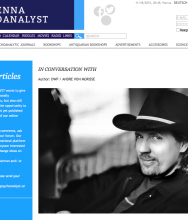 THE VIENNA PSYCHOANALYST, in conversation with ANDRE VON MORISSE