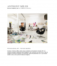 M JOURNAL Portrait: ANTHONY MILER, January 20, 2014